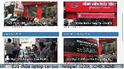 Chuyên sửa chữa laptop Lenovo Thinkpad X230i, X240, X250 lỗi bị sọc
