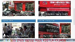 Bảo hành sửa chữa laptop Asus K551LA-XX245D, K551LA-XX245H, K551LA-XX314D, K551LA-XX315H lỗi có đèn nguồn không lên hình