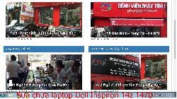 Bảo hành sửa chữa laptop Dell Inspiron 14z 1470, 14z 1564, 14z 5423, 14z N411z lỗi hay đứng máy
